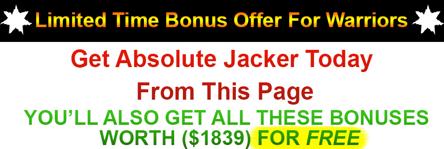 Absolute Jacker Bonus