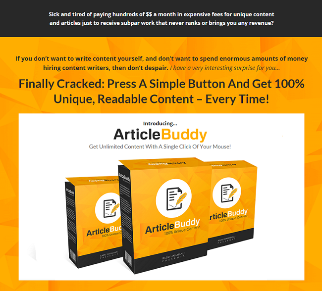 Article Buddy 3.0