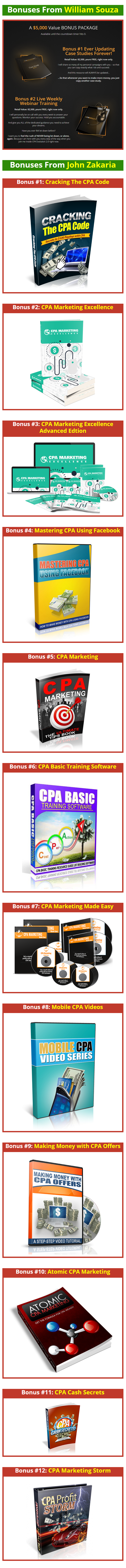 CPA Evolution 2.0 Bonus