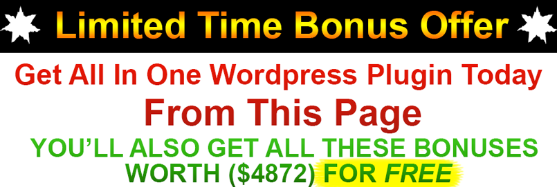 All In One WordPress Plugin Bonus