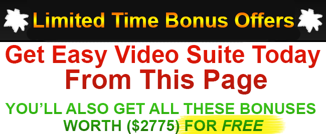 Easy-Video-Suite-Bonus