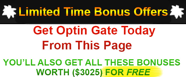 Optin Gate Bonus
