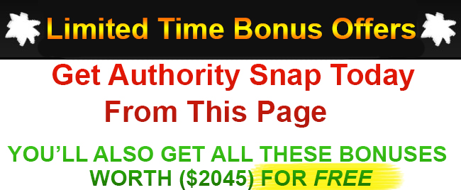 Authority Snap Bonus