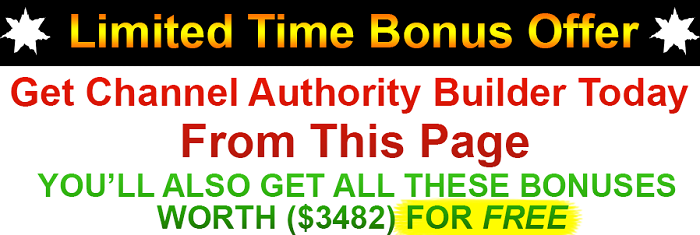 Channel Authority Builder Bonus