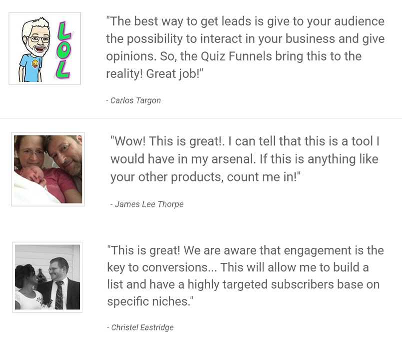 quiz funnels review best bonus discount capture highly