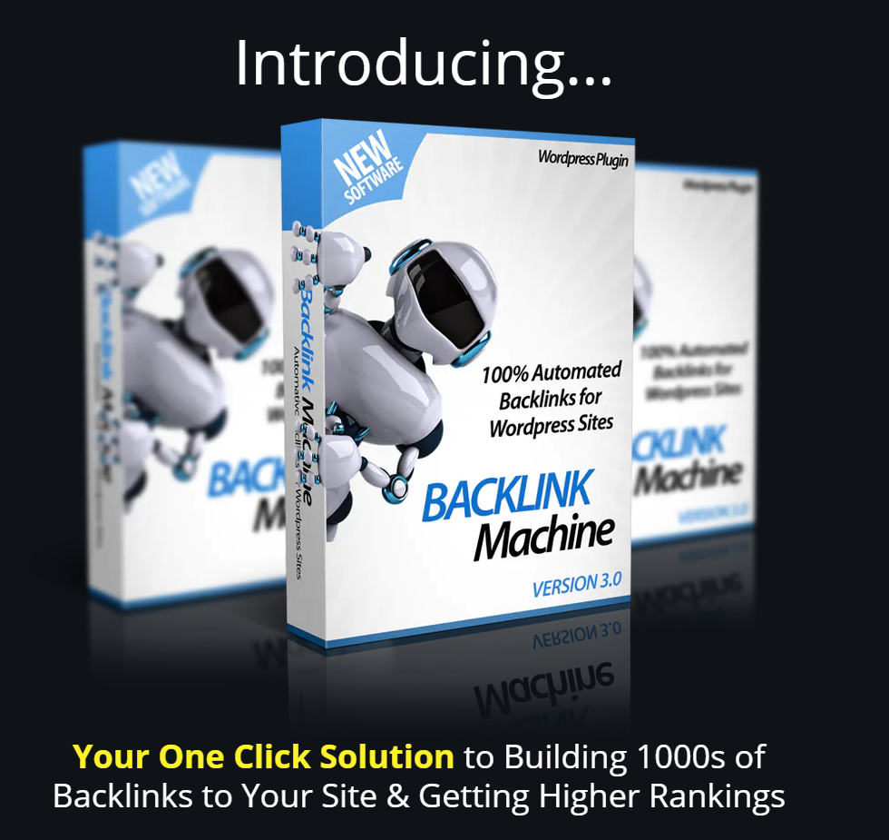 Backlink Machine 3.0 Review