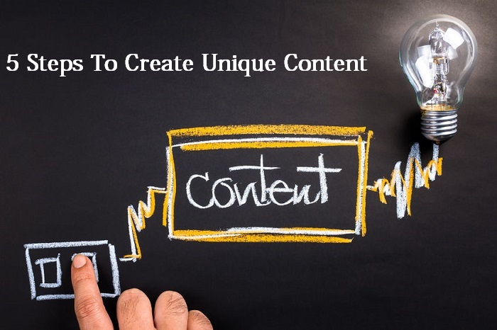 Create Unique Content