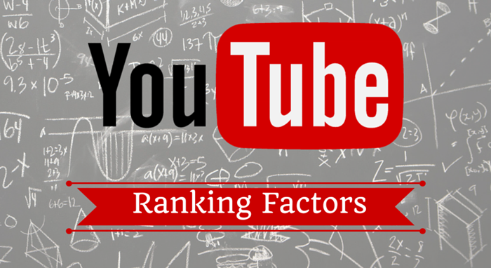 YouTube Ranking Factors