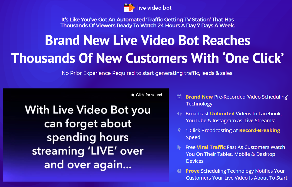Live Video Bot Review