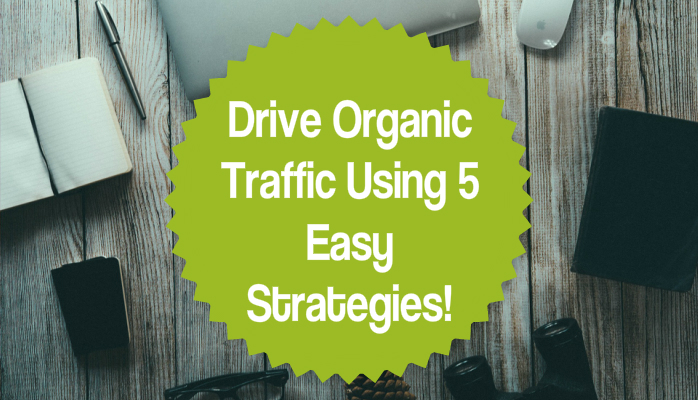 Drive Organic Traffic Using 5 Easy Strategies