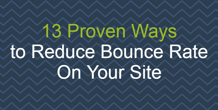 Reduce Bounce Rate On Your Site