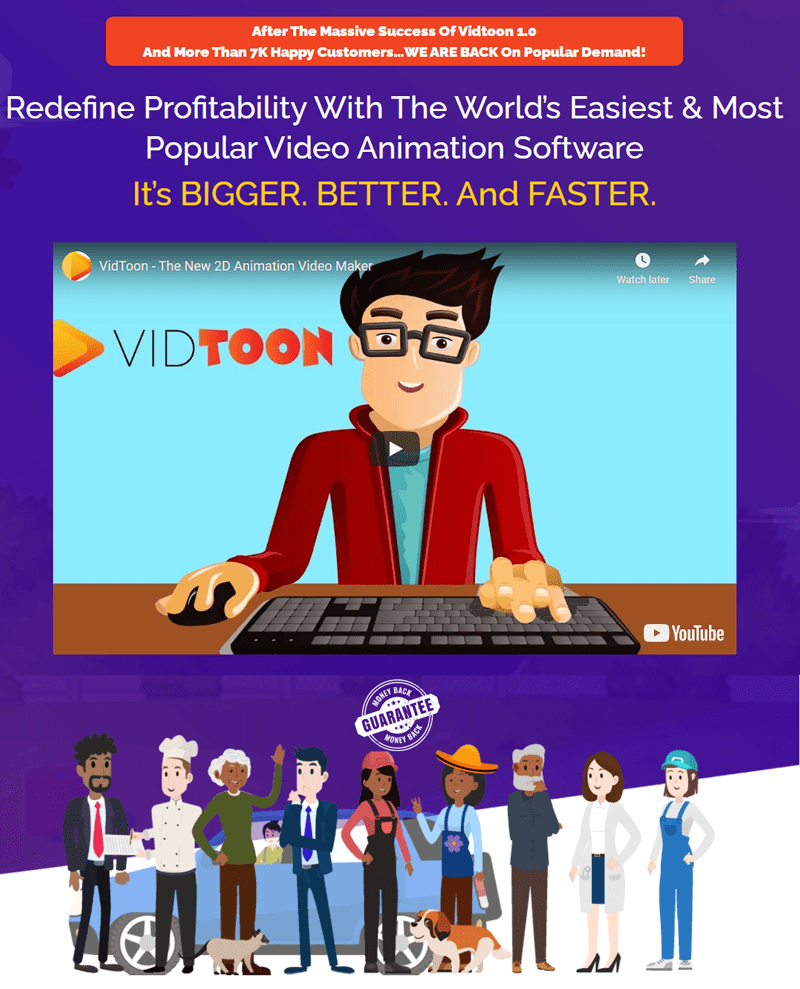 Vidtoon 2.0 Review