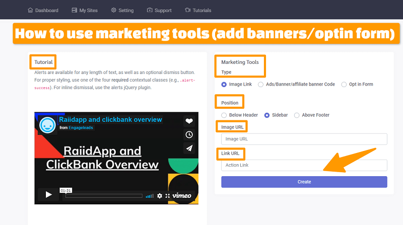 How To Use Empire Store Builder Marketing Tools