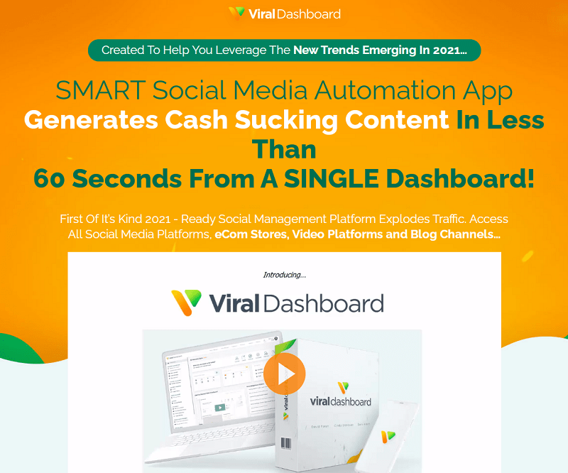Viral Dashboard Review