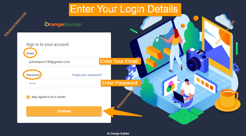 How OrangeBuilder Software Works