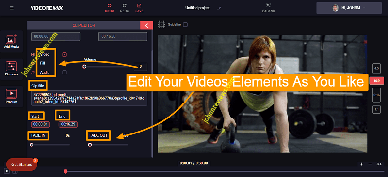 Edit Your Video Elements With SmartVideo Evolution