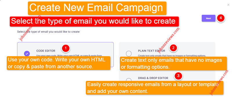 Create Email Campaigns With Mailzapp