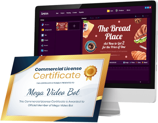 Mega Video Bot Commercial license