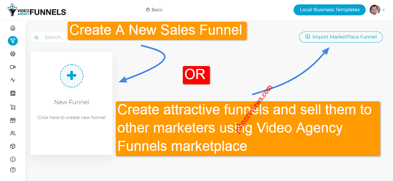 Create Sales Funnels With Video Agency Funnels