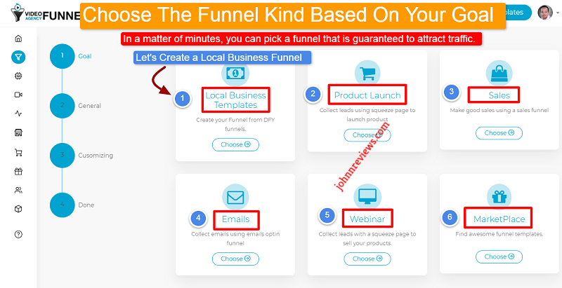 Inside The Dashboard Of Video Agency Funnels