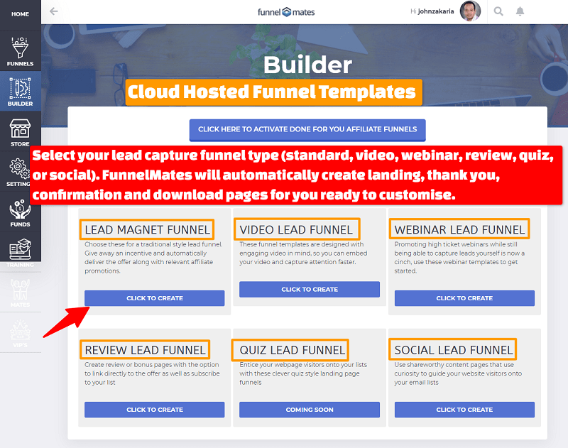 FunnelMates Done-For-You Funnels